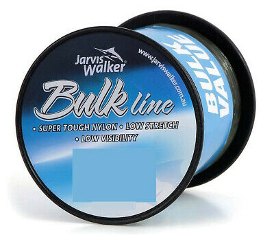 8lb Jarvis Walker Bulk Mono Fishing Line - 1200m Spool - Green