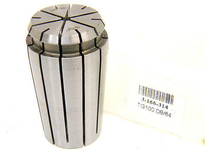 "NEW TOOLMEX TG100 x 9/64"" SINGLE ANGLE COLLET 3-166-314 TG-100 x .1406"""