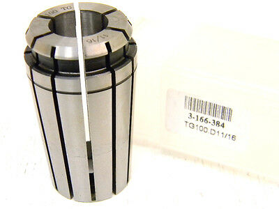 "NEW TOOLMEX TG100 x 11/16"" SINGLE ANGLE COLLET 3-166-384 TG-100 x .6875"""