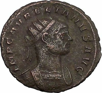 AURELIAN shaking hands with Concordia  Ancient Roman Coin  Harmony  Cult  i50240