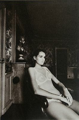 "Jeanloup Sieff Original ""Intimode"" Photo Phototypie Collotype 24x32 Boléro, 1983"
