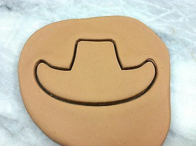 NEW Cocinaware Cowboy Hat Shaped Metal Cookie Cutter Baking