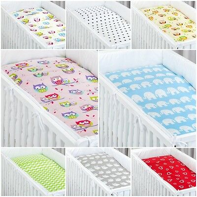 2 Pieces Pcs Bedding Set Baby Cot Bed 100X135 Cm Pillow Case Duvet Cover Cotton