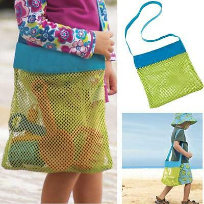 Large Mesh bags Storage for Kids toys Outdoor Travel Messenger Bag Beach Sandway