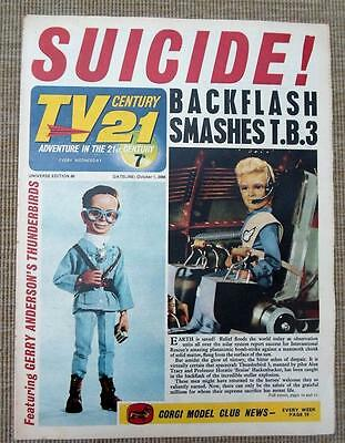 TV 21 #89 CENTURY XL5 STINGRAY THUNDERBIRDS Daleks fireball bellamy
