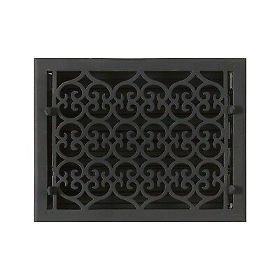 Naiture Smooth Cast Iron Wall Register Oversized Old Victorian Style In 15 Sizes