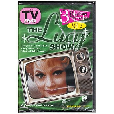 DVD LUCY SHOW, THE VOL 2 Lucille Ball TV Classic Comedy 3xEp ALL PAL REGION [BNS