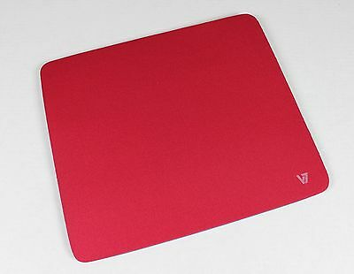 Brand New Red Point & Click Comfort Accuracy Anti-Slip Mouse Mat/Pad