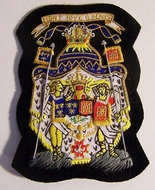 Medieval French France Royal COA Heraldry Symbol Patch Badge Arms Crest Royal