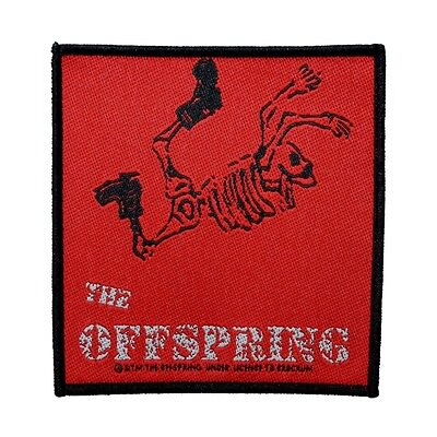 """The Offspring"" Skeleton Punk Art Rock Band Merchandise Sew On Applique Patch"