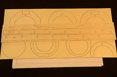 MIG 15 Laser Cut Short Kit & Plans 50 in. wingspan DUCTED FAN