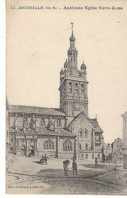 Cpa Joinville Ancienne Eglise Notre Dame
