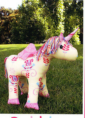 PATTERN - Bubbles - fun unicorn/horse softie PATTERN from Melly & Me