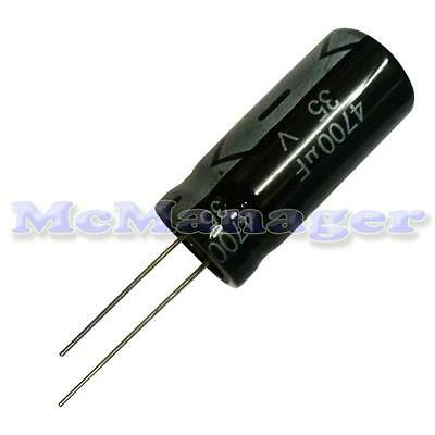 4700uF 35V Electrolytic Radial Capacitor 105°C 18x30mm Tolerance:20% Pitch 7mm