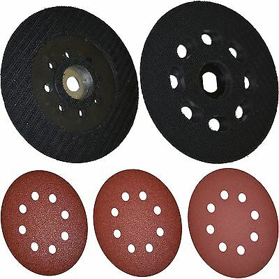 Black + Decker Multi Sander Round 125mm Sanding Sheets and or Platten Plate Pad