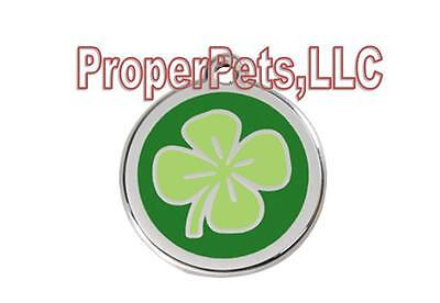Red Dingo 4 LEAF CLOVER Engraved Dog ID Pet Tag/Charm BEST PET TAGS Guaranteed
