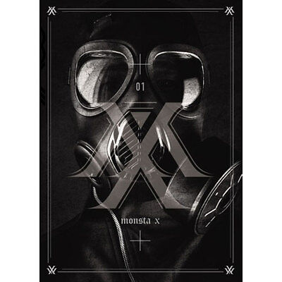 MONSTA X-[TRESPASS] 1st Album CD + 92p Booklet + Photocard K-POP Sealed