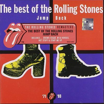 The Rolling Stones Jump Back The Best Of  '71-'93 CD Rock Music Album Brand New