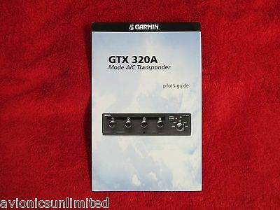 Garmin Gtx320A Mode A/c Transponder Pilots Guide