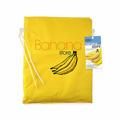 Eddingtons Banana Storage Bag - Large 28x37cm - Prevents bananas over-ripening.