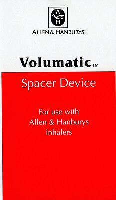 Volumatic Spacer Device for use with Allen & Hanbury Inhalers