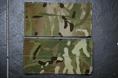 1 Pair British Army Issue, MTP, Osprey, Body Armour BLANKING PATCHES