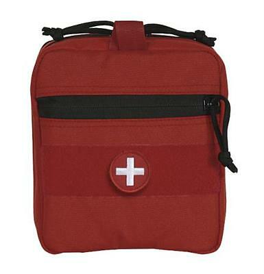Voodoo Tactical EMT Lifeguard  Rip-Away Medic Supply Pouch MOLLE Red 15-0022