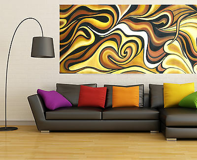 Abstract original Art Painting Modern Huge COA By Jane Australia Coa Aboriginal