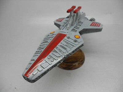 Republic Attack Cruiser Star Wars Spacecraft Handcrafted Wood Model Large New