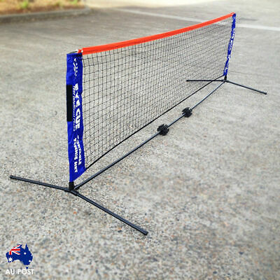 EYE CUE 6-Metre Portable Tennis Net and Post Set with Carry Bag SPORT AU