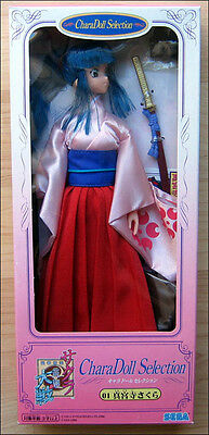 "Sakura Wars 11"" SEGA Chara Doll CharaDoll Selection 01 ANIME FIGURE Rare Item!!!"