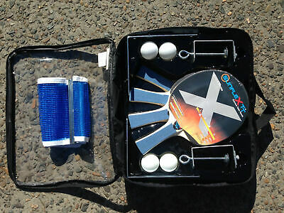 Sunflex Deluxe 4 Player Set with Net and Posts and 4 Balls Table Tennis AU