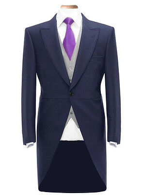 Mens Boys Tailcoat Tails Wedding Fancy Dress Prom Morning Suit Jacket Formal