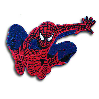 Spiderman Super Hero Cartoon Patch Applique Embroidered Iron on Logo Marvel Mask