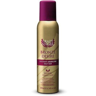 Crazy Angel Bronze Desire Instant Airbrush Self-Tan Medium 200Ml