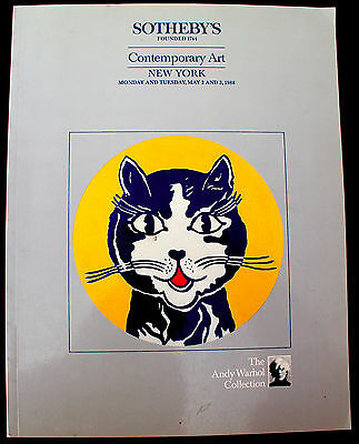 Sotheby's Art Catalog -- Contemporary Art - The Andy Warhol Collection