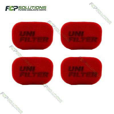 4 X UNIFILTER Safari Snorkel Ram Head (150Wx100H) Cover Pre Cleaner Filter