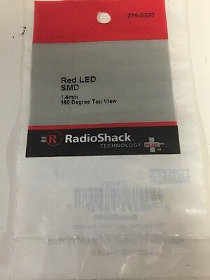 Red LED SMD #276-0323 By RadioShack