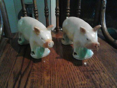 Pig Figurine made in Brazil, set of 2