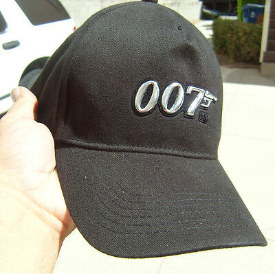 *One  007 James Bond New Original Cap, Hat ESPECTRE, GREAT Christmas  gift