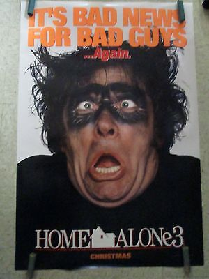 One Sheet Movie Poster Original Rolled Home Alone 3 Starring Krupa #138