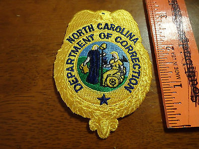 NORTH CAROLINA DEPARTMENT OF CORRECTION  BX G #1