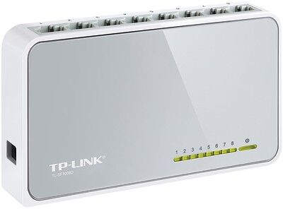 TP-LINK SF1008D 8-Port Unmanaged Fast Ethernet Switch[TL-SF1008D]