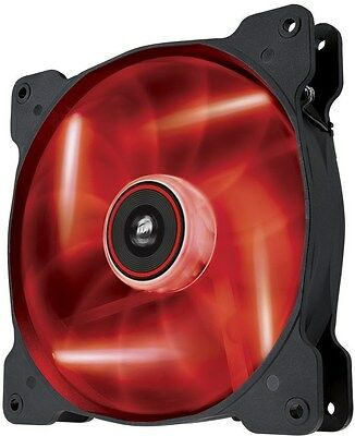 Corsair AF140 140mm Quiet Edition Red LED Cooling Fan[CO-9050017-RLED]