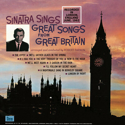 Frank Sinatra Great Songs From Great Britain Lp Vinyl New 33Rpm