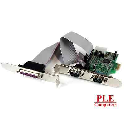 Startech 2S1P PCIe Parallel Serial Combo Card[PEX2S5531P]
