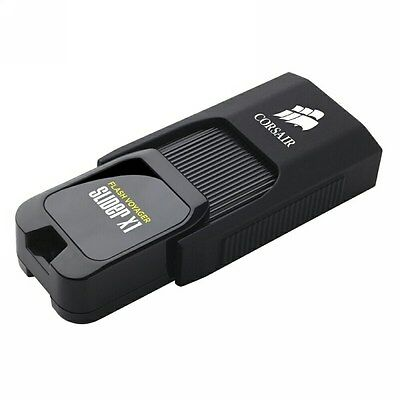 Corsair Flash Voyager Slider X1 128GB USB 3.0 Flash Drive[CMFSL3X1-128GB]