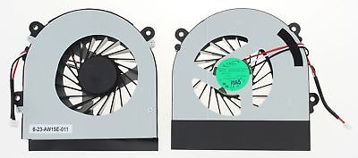 Clevo W350 W350Etq W370 W230St Laptop Series Cpu Cooling Fan Ab7905Hx-De3 B137