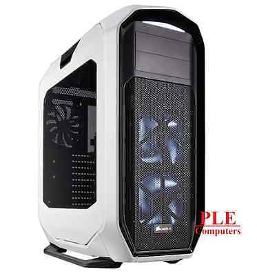 Corsair Graphite 780T White Full Gaming Tower w/Side Panel Window[CC-9011059-WW]