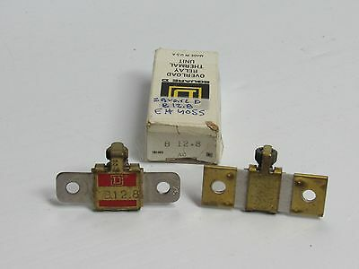 LOT OF 2 SQUARE D B 12.8 OVERLOAD RELAY THERMAL UNIT B12.8 New